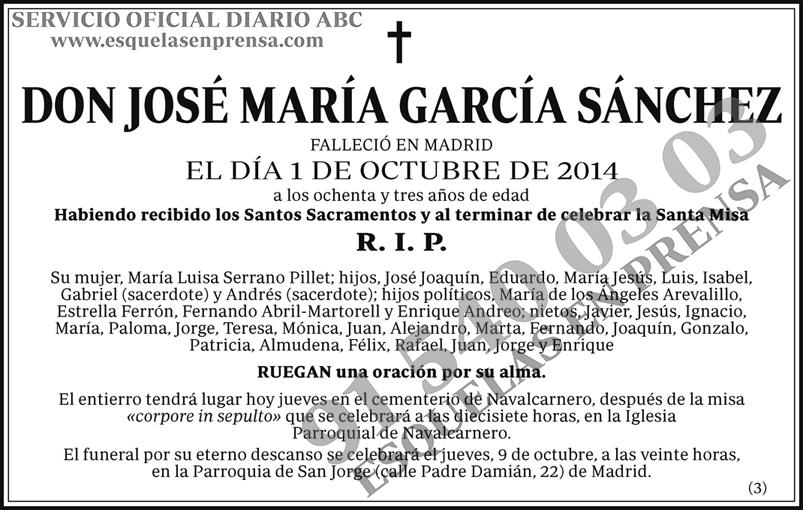 José María García Sánchez